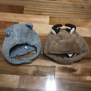 Two winter baby Gap Hats